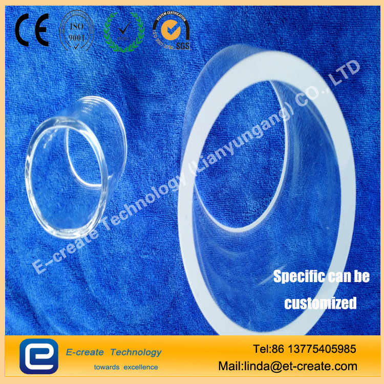 High temperature quartz tube Quartz casing