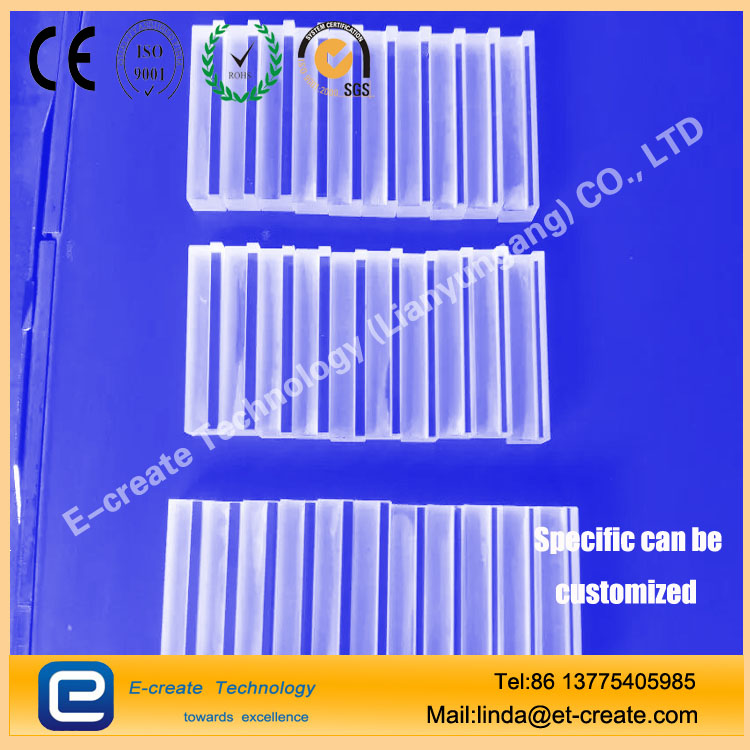 Rectangular quartz bar, convex-shaped quartz pressure, the pressure of the quartz