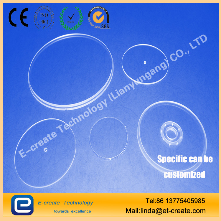 Quartz care, quartz bearing, quartz mold, quartz shaped pieces of custom processing