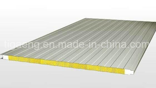 Steel Mineral Wool Sandwich Panel for Shop/Large Supermarket