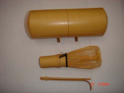 Bamboo Whisk (Chasen) and Ladle