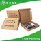 Luxury flip top gift box with magentic custom foldable packaging