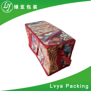 Promotional custom wholesale logo print cooler bag insulated for frozen food
