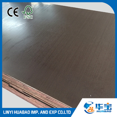 CE Quality Film Faced Plywood WBP Glue First Grade (HB122)