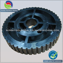 OEM Custom Plastic Injection Molding Plastic Precision Wheel (PL18019)