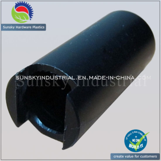 CNC Turned Guide Tube Drilled Part (ST13019)