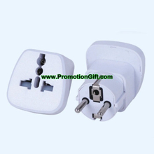 Travel universal adapter with safety shutter