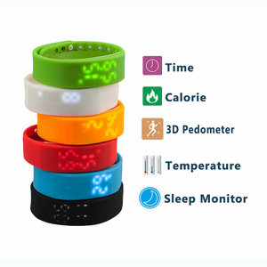 W2 Smartband Bracelet Time Display with Sleep Monitor Waterproof Wristband