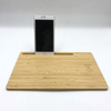 New Universal QI Wireless Charger for IPhone 2in1 Mousepad Wooden Wireless Fast Charger Desktop Wireless Charger for Mobilephone