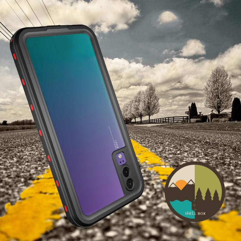IP68 Waterproof Phone Case for Mobile Phone Case Shockproof Dirtproof Waterproof Case for Huawei P20