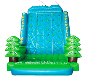 RB13005(5.5x4.3x6.3m) Inflatable Climbing Mountain/ Inflatable Forest Theme Climbing Sport Game