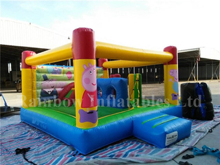 Mini Cartoon Theme Home Inflatable Bouncers