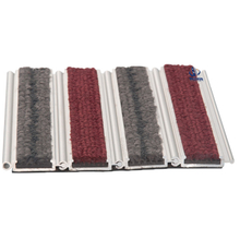 Roll up easy install aluminum entrance mat MS-980