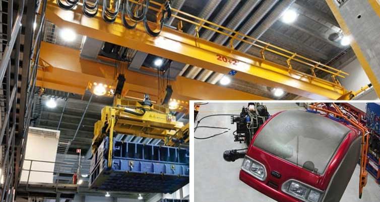 Надземные краны конструированные для автомобильной промышленности