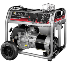 7.5kVA/7500W/7.5kW/7500Watt BRIGGS&STRATTON Design Air Cooled Gasoline Generator with Wheels