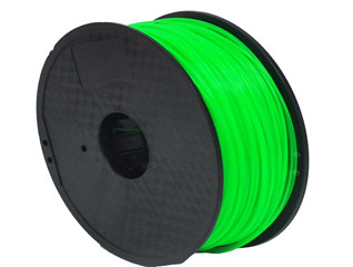 1.75mm/3.0mm 1kg Spool Transparent Green Color PLA 3D Printer Filament