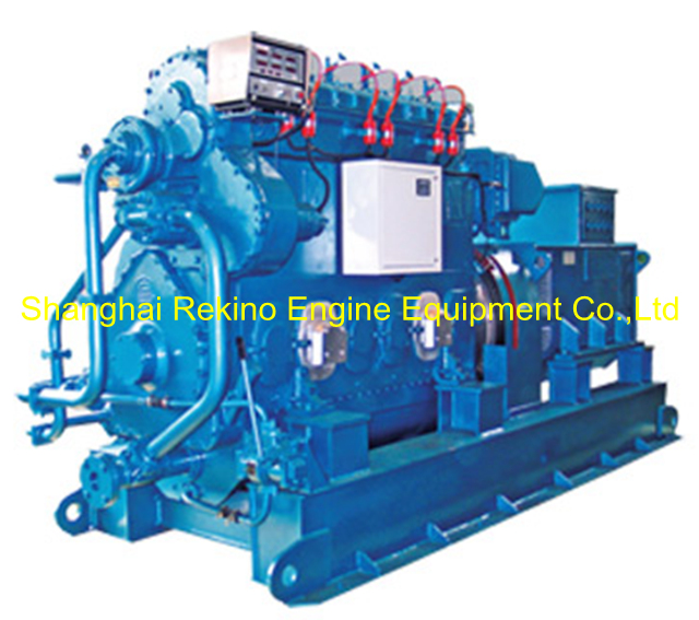Weichai 50HZ large Natural Gas genset generator set (400-800KW)