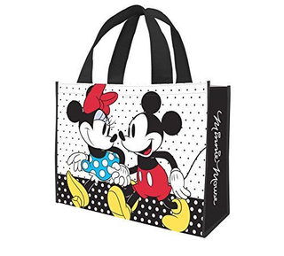 Disney Mickey and Minnie Recycled Shopper Tote