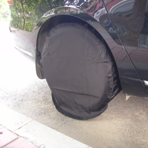 Customized size Set Of 4 Wheel Tire Covers Trailer Camper Car SUV Truck