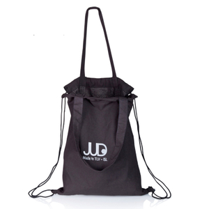 Black tote rucksack multi way backpack tote bag