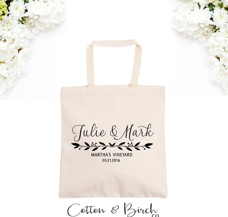 personalized wedding tote bag wedding guest-bag personalized welcome bags gift ideas bridal party gifts