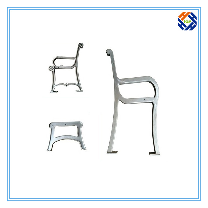 Garden Bench End Outdoor Furniture by Die Casting Processing-4