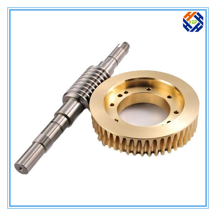 CNC Machined Parts for Gear and Gear Reducer-3