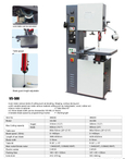 VERTICAL METAL CUTTING BAND SAW VS-500