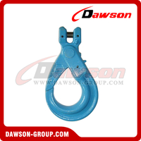 G100 / Grade 100 European Type Forged Clead Self-Locking Hook para Lifting Chain Slings