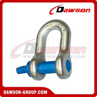 AS2741 Forged Alloy Grade S Dee Shackle Com Parafusos