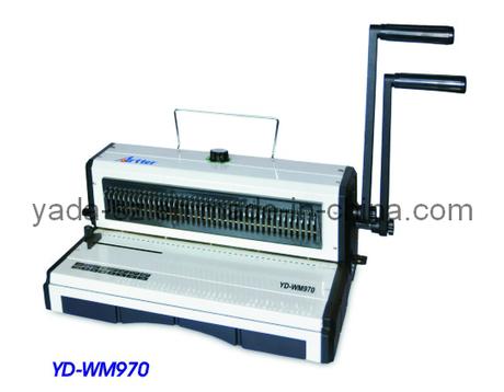 Double Wire Binding Machine (YD-WM970)