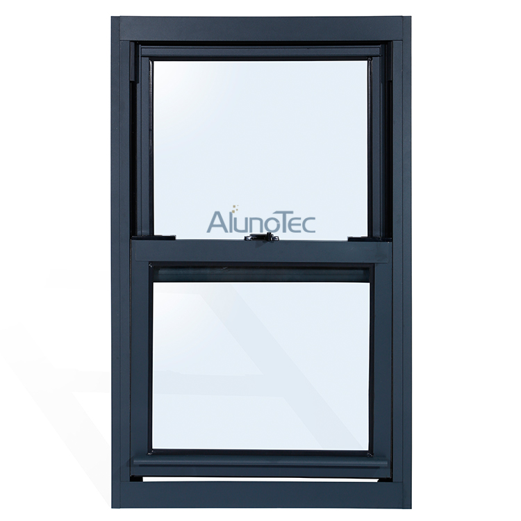 single top hung vertical sliding window