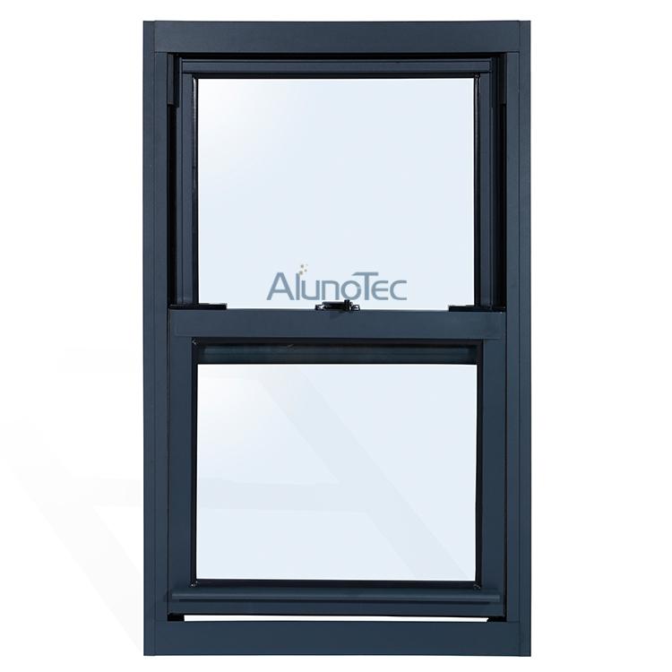 Single top hung vertical sliding window buy single slide for Top hung sliding glass doors