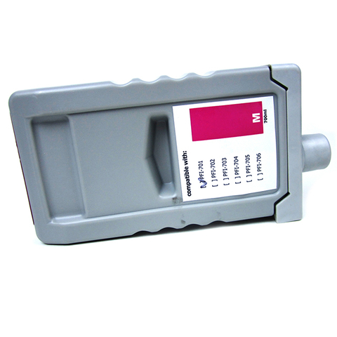 Magenta OEM Canon PFI-701 Pigment Ink Cartridge with Chip Factory Supplying for IPF8000/8000S/9000/9000S