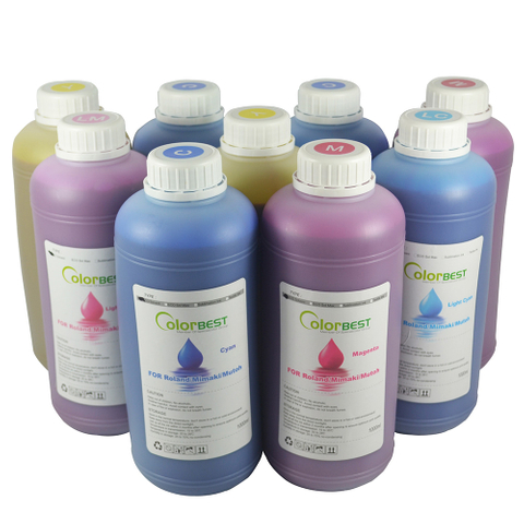 Inkjet Inks Manufacturers Vivid Color Cyan Eco Ink
