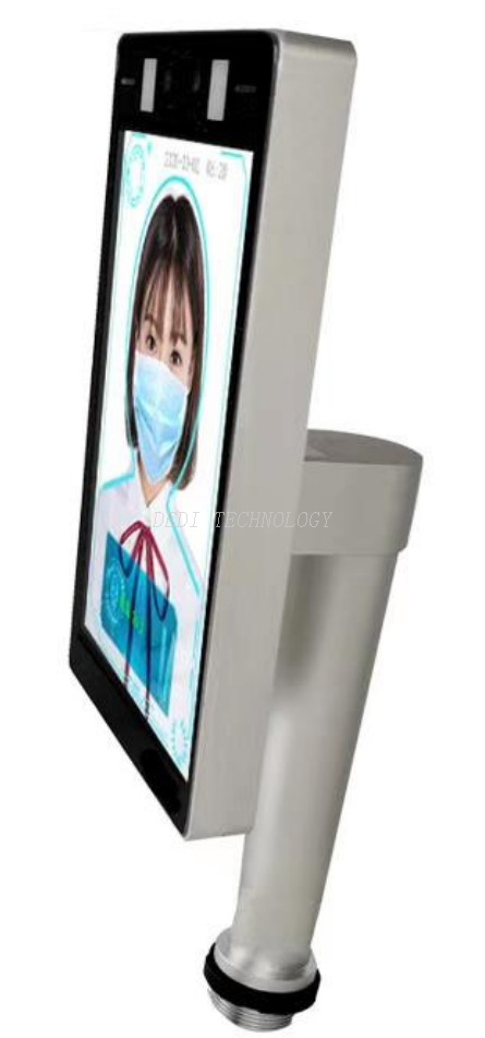 Thermal imaging face recognition scanner infrared body temperature measuring machine