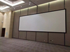 Flat wide frame projector screen 10 meter customized