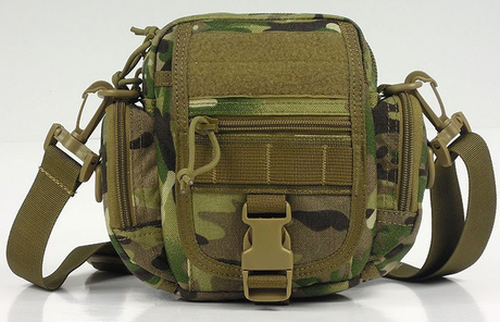 Military and Airsoft Waistbag with Shoulder Strap