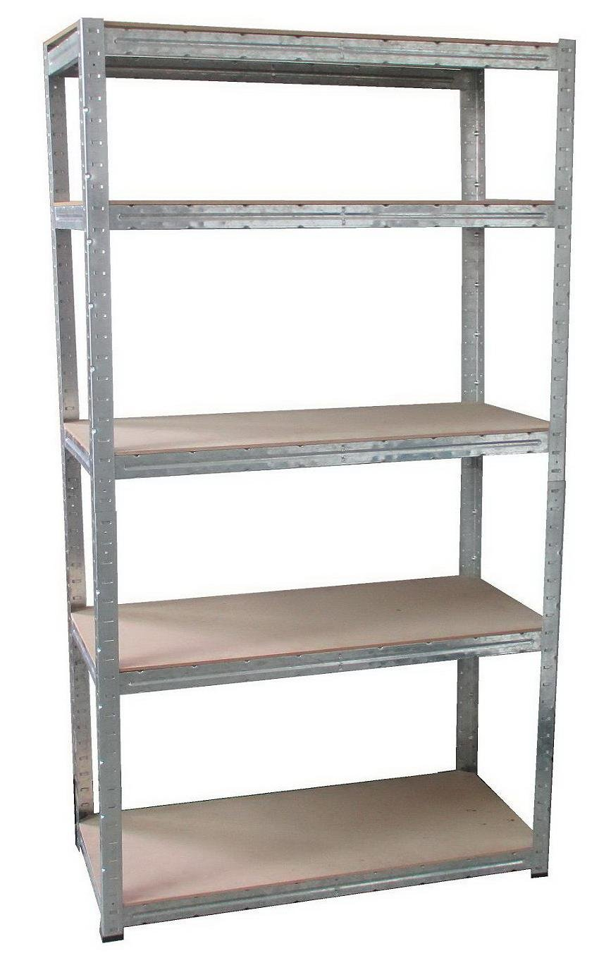 5 Tiers Galvanized Metal Shelf (9040-175)