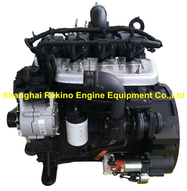 DCEC Cummins QSB3.9-C80-31 Construction diesel engine motor 80HP 2200RPM