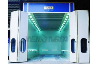 WLD12000 Bus Paint Booth For Sale