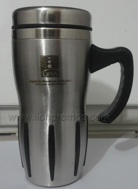 Logo Laser Engrave Corporate Executive Business Gift Stainless Steel Office Water Mug