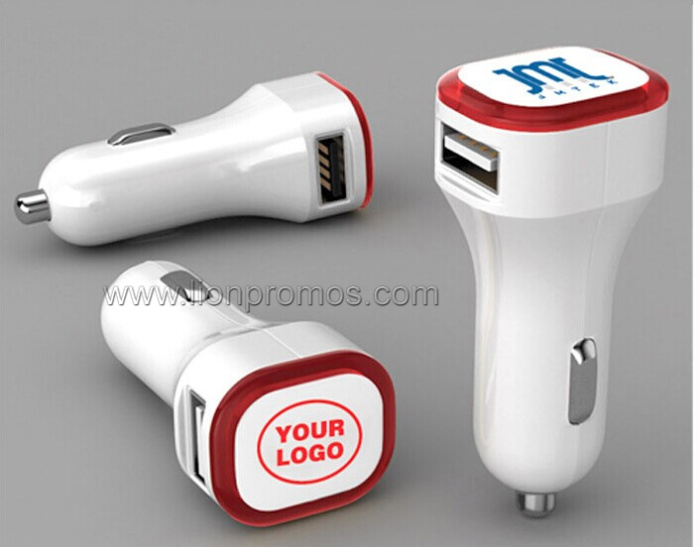 Coca Cola Promotional Gift Car Mobile Charger With USB Output
