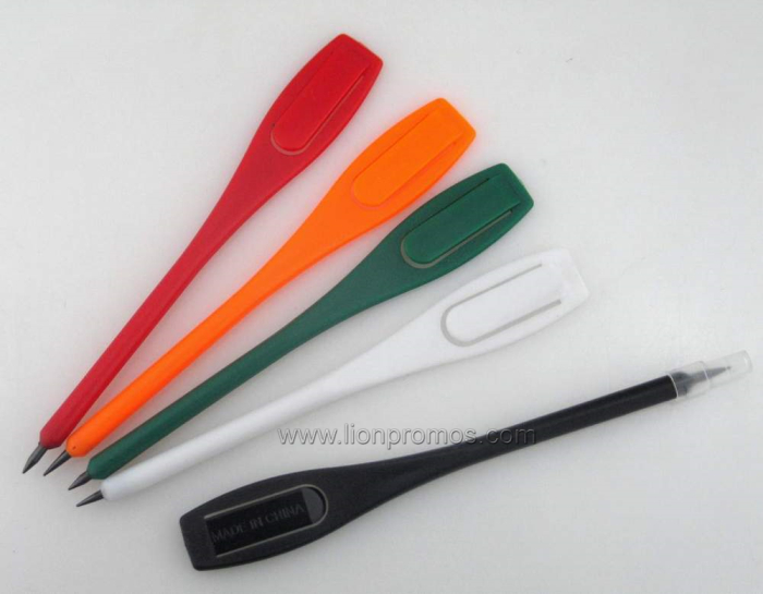 Promotional Durable Plastic Golf Pencil