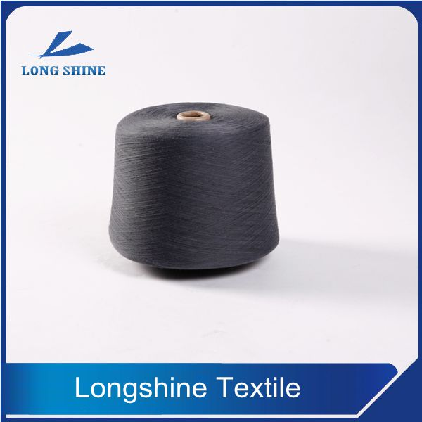 30/1 Dope Dyed Color Polyester Ring Spun Yarn