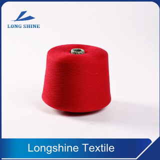 20/1 Dope Dyed Color Polyester Ring Spun Knitting Yarn Manufacturer