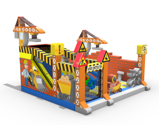 Inflatable Extreme Builder Zone Bouncer