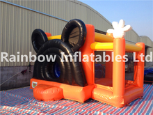 RB1067(4.5x4.5m) Inflatable Small mouse bouncing castle with low price for kids
