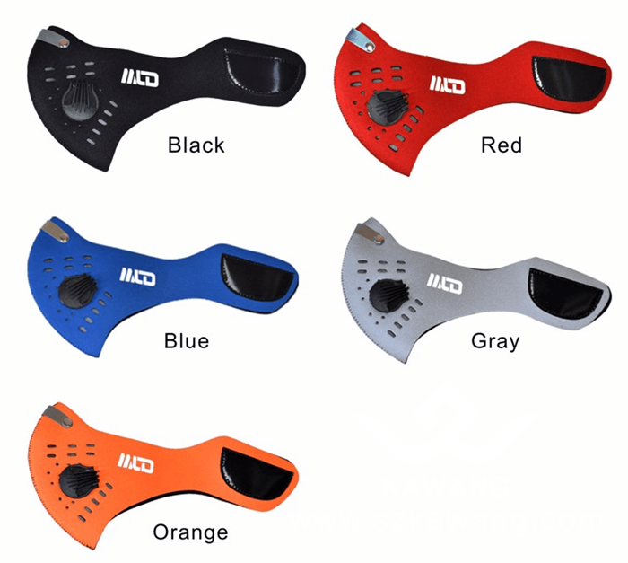Kawang Popular Neoprene Outdoor Sports Cycling Anti-Dust Mask PM2.5 Pollution Face Fliter