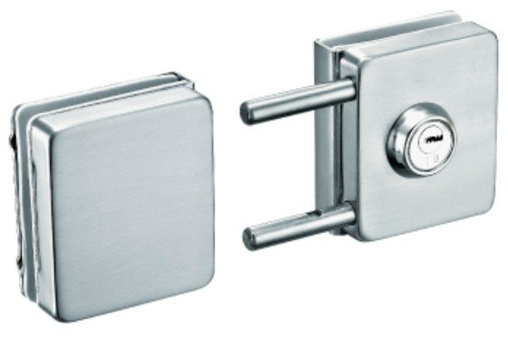 Glass Door Bolt Lock (FS-242)
